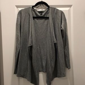 H&M Cardigan- Gray- Size Small